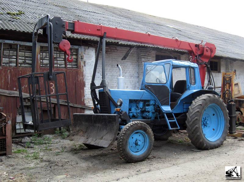 Продажа автогидроподъёмников (автовышек) МТЗ Беларус.