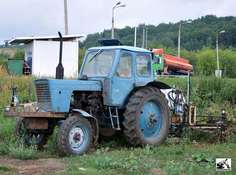 Органы управления и контрольные приборы трактора МТЗ-50.