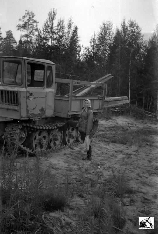ТДТ-55 трактор трелевочный - agroru.com